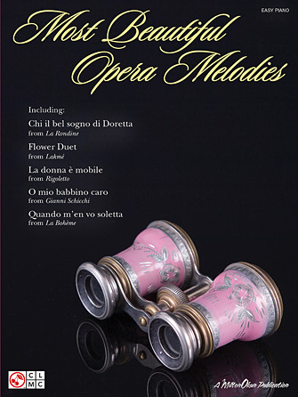 Product Cover for Most Beautiful Opera Melodies for Easy Piano