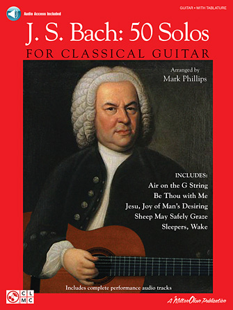 Product Cover for J.S. Bach – 50 Solos for Classical Guitar