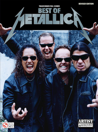 Product Cover for Best of Metallica – Transcribed Full Scores