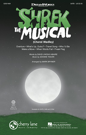 Shrek: The Musical : SATB : Mark Brymer : Jeanine Tesori : Shrek - The Musical : Sheet Music : 02501464 : 884088466480