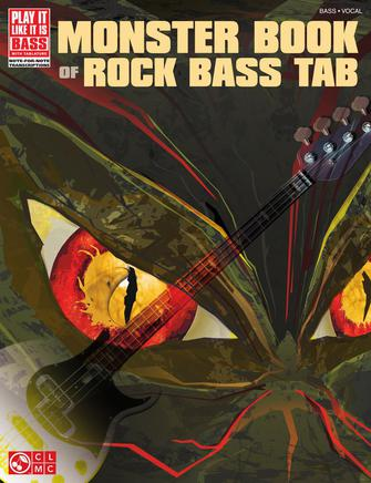 Product Cover for Monster Book of Rock Bass Tab
