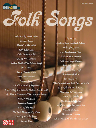 Product Cover for Folk Songs