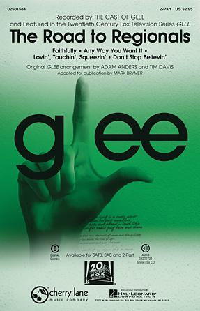 The Road to Regionals : 2-Part : Tim Davis : Glee Cast : Sheet Music : 02501584 : 884088525378