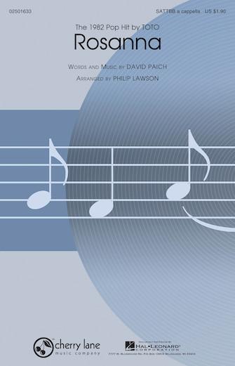 Rosanna : SATTBB : Philip Lawson : David Paich : Toto : Sheet Music : 02501633 : 884088551537