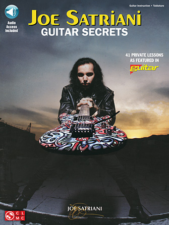 Product Cover for Joe Satriani – Guitar Secrets