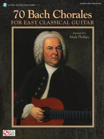 Product Cover for 70 Bach Chorales for Easy Classical Guitar