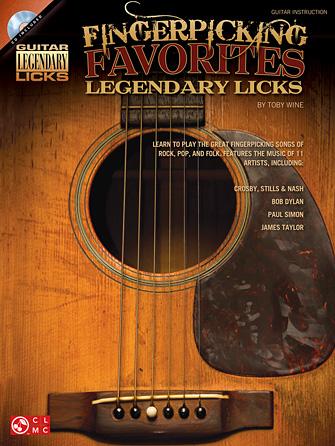 Product Cover for Fingerpicking Favorites Legendary Licks
