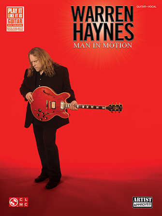 Product Cover for Warren Haynes – Man in Motion