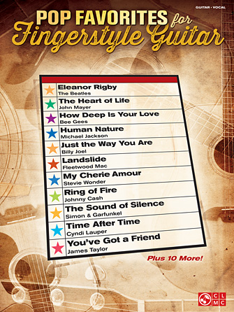 Product Cover for Pop Favorites for Fingerstyle Guitar