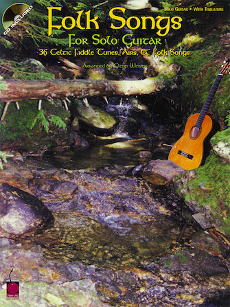 Product Cover for Folk Songs for Solo Guitar