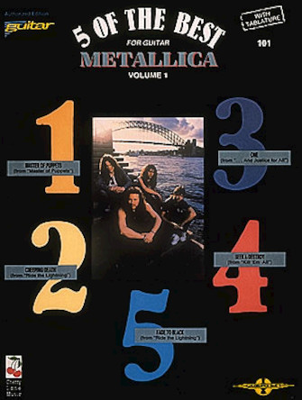 Product Cover for Metallica – 5 of the Best/Vol. 1