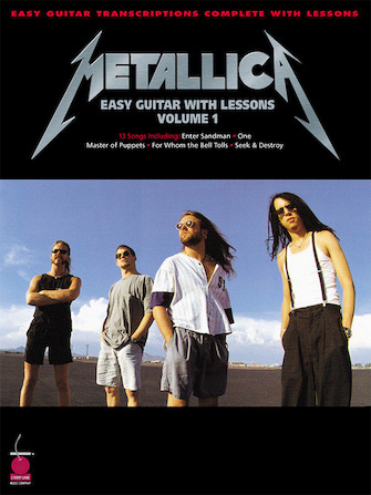 Product Cover for Metallica for Easy Guitar with Lessons, Vol. 1