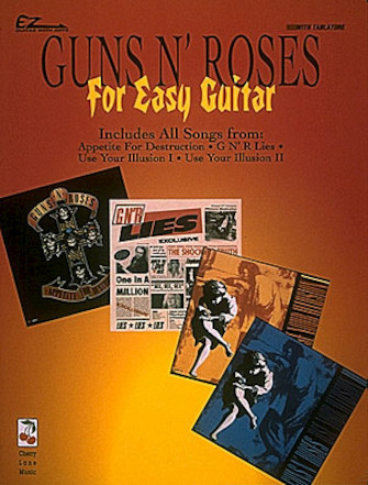 Product Cover for Guns N' Roses for Easy Guitar*