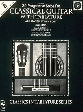 Product Cover for 39 Progressive Solos for Classical Guitar