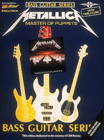 Product Cover for Metallica – Master of Puppets*