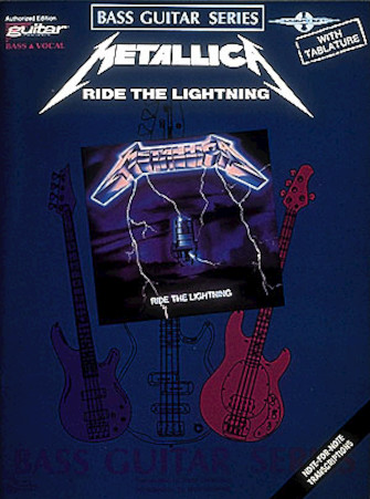 Product Cover for Metallica – Ride the Lightning*
