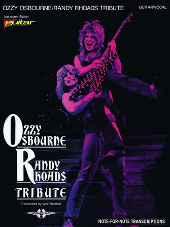 Product Cover for Ozzy Osbourne – Randy Rhoads Tribute
