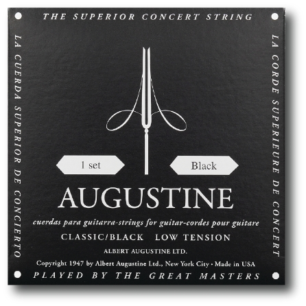 Product Cover for Classic/Black – Low Tension Nylon Guitar Strings