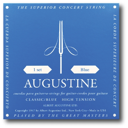 Product Cover for Classic/Blue – High Tension Nylon Guitar Strings