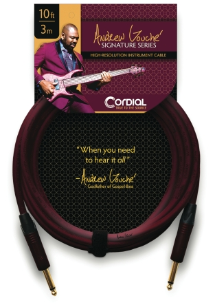Product Cover for Premium Instrument High-Copper Cable – Andrew Gouché Signature