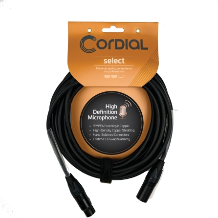 Product Cover for Premium Studio Microphone Ultra-Flexible Cable with Balanced XLR Connectors