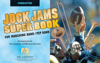 Product Cover for Jock Jams Super Book – Conductor