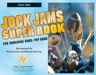 Product Cover for Jock Jams Super Book – Quad Toms