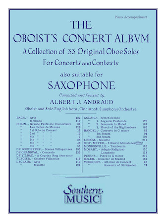 Product Cover for Oboist's Concert Album
