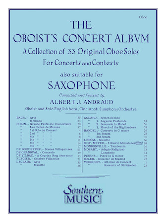 Product Cover for Oboist's Concert Album