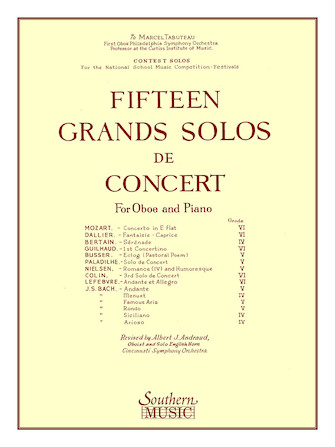 Product Cover for 15 Grands Solos de Concert