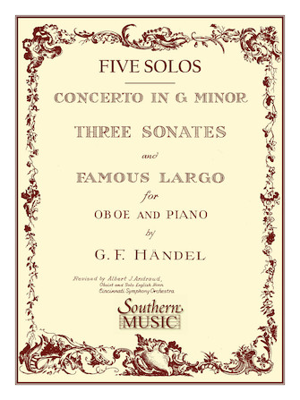 Product Cover for Three Sonates Famous Largo (Concerto G Minor)