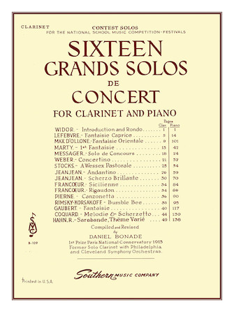Product Cover for 16 Grand Solos de Concert