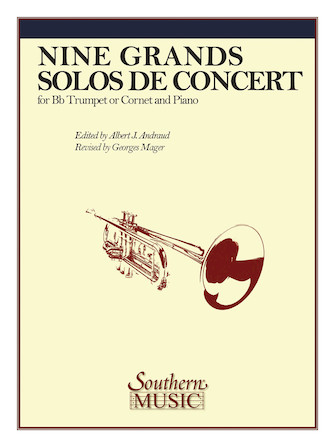 Product Cover for Nine Grand Solos De Concert