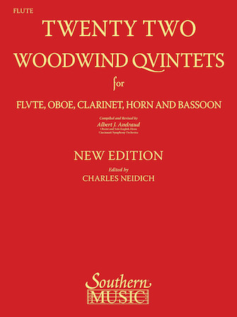 Product Cover for 22 Woodwind Quintets – New Edition