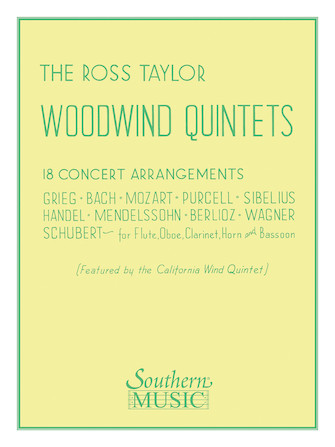 Product Cover for Ross Taylor Woodwind Quintets