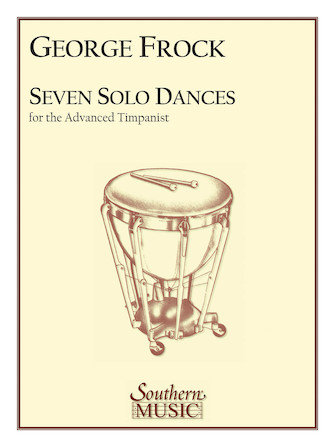 Product Cover for Seven Solo Dances for the Advanced Timpanist