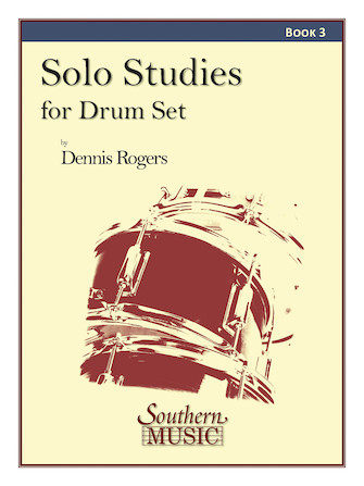 Product Cover for Solo Studies for Drum Set, Book 3