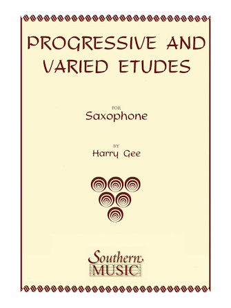 Product Cover for Progressive and Varied Etudes