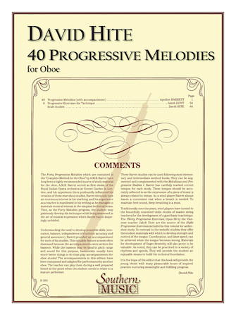 Product Cover for 40 Progressive Melodies