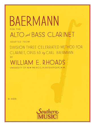 Product Cover for Baermann for Alto and Bass Clarinet