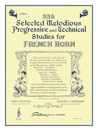 Product Cover for 335 Selected Melodious Progressive & Technical Studies