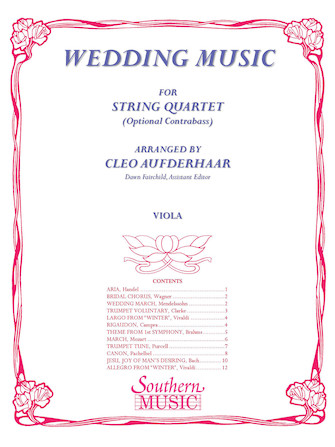 Product Cover for Wedding Music