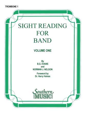 Product Cover for Sight Reading for Band, Book 1