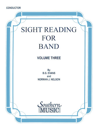Product Cover for Sight Reading for Band, Book 3