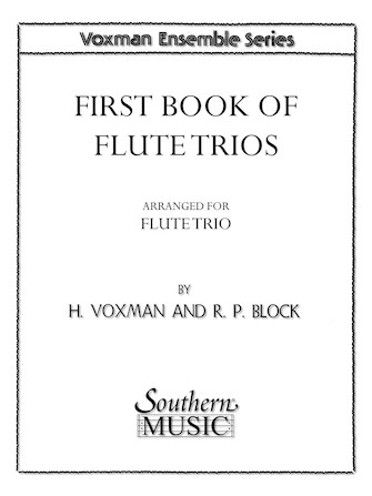 Product Cover for First Book of Flute Trios