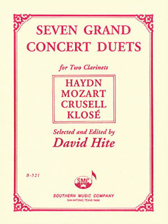 Product Cover for Seven Grand Concert Duets
