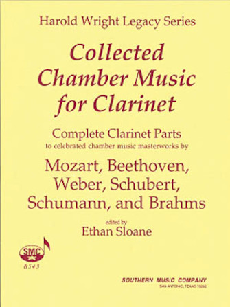 Product Cover for Collected Chamber Music for Clarinet