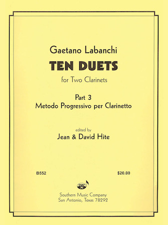 Product Cover for Ten Duets from Metodo Progressivo