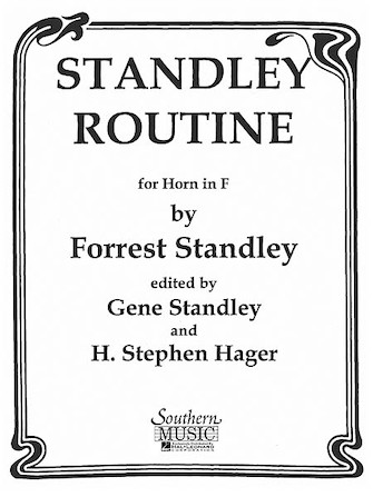 Product Cover for Standley Routine