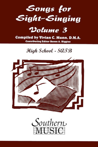 Product Cover for Songs for Sight Singing– Volume 3